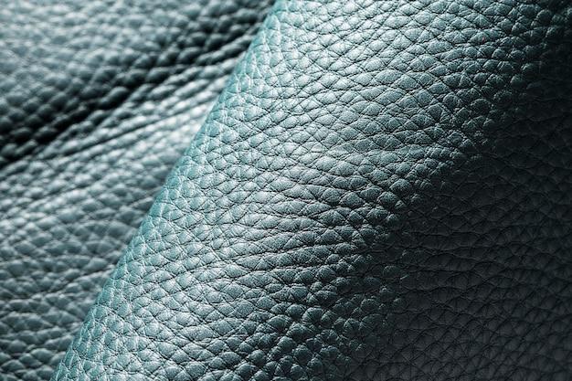 Couro texturizado em close-up extremo