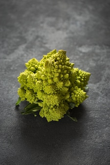 Couve-flor romanesco close-up