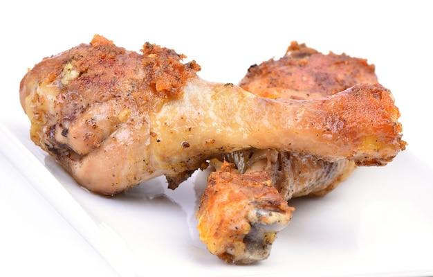 Coxa de frango frito