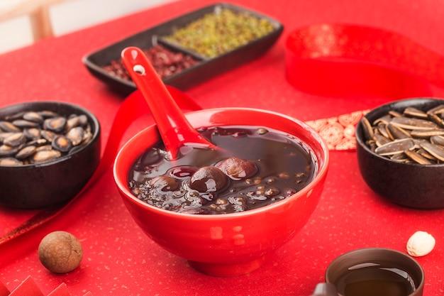 Cozinha chinesa do norte, mingau de laba, mingau de oito tesouros