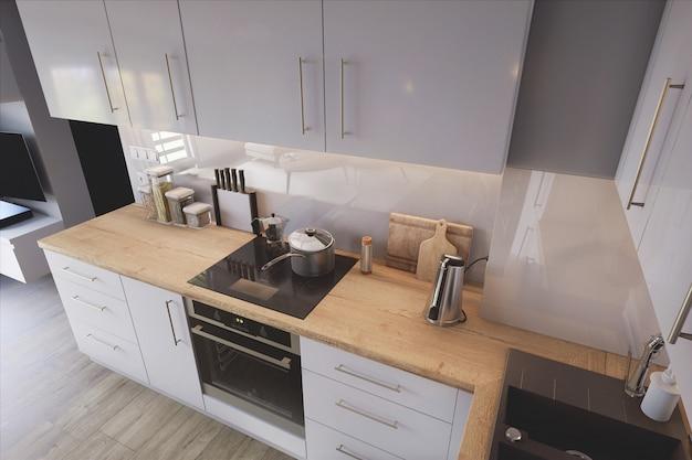 Cozinha elegante