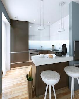 Cozinha em estilo moderno