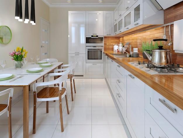 Cozinha, estilo vanguardista