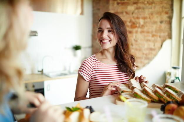 Cozinha feliz