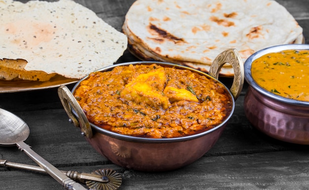 Cozinha indiana kadai paneer food