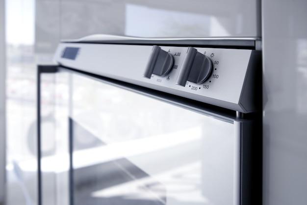 Cozinha moderna forno branco arquitetura detai