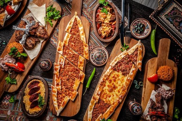 Cozinha tradicional turca.