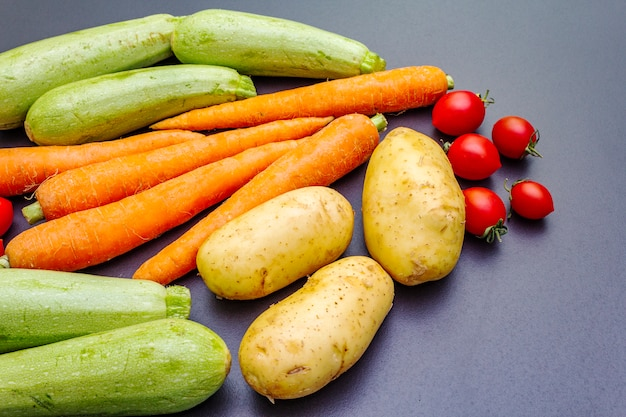 Cozinhar legumes frescos