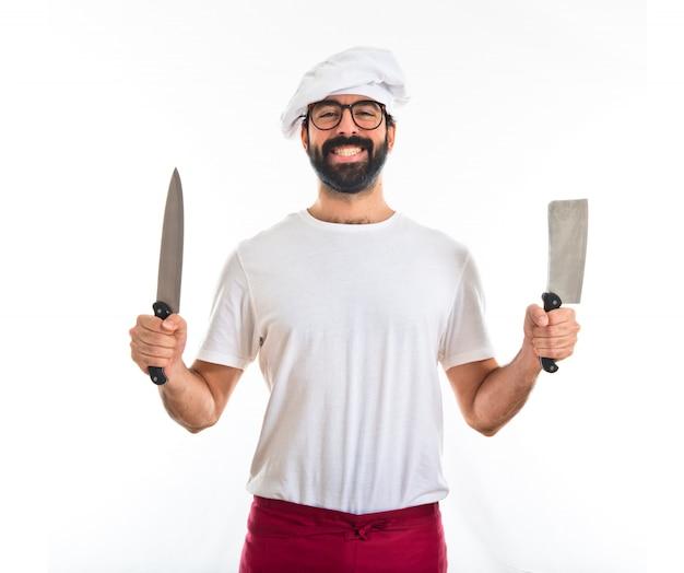 Cozinheiro chefe de facas
