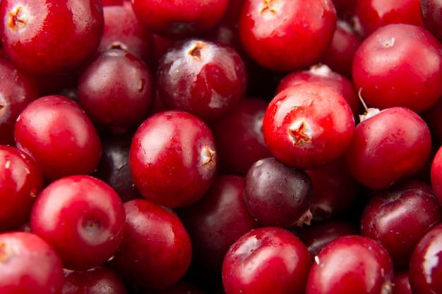 Cranberry de frutas saborosas.
