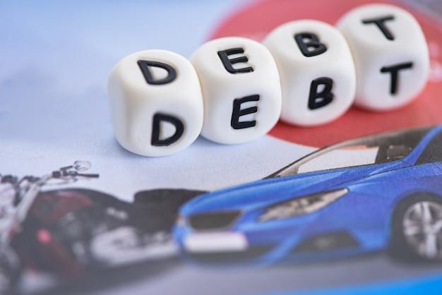 Crédito de empréstimo para dívida de carro