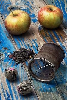 Creme de frutas variedades de chá