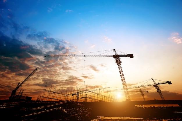 Crepúsculo, construção, local