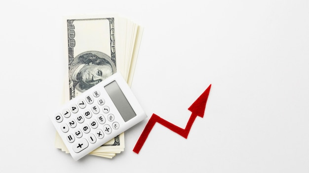 Crescimento da economia e do dinheiro dos bancos