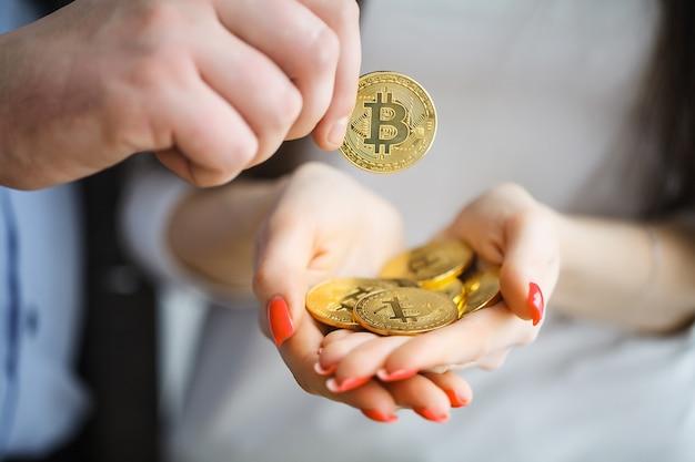 Crescimento de bitcoin, novo dinheiro virtual