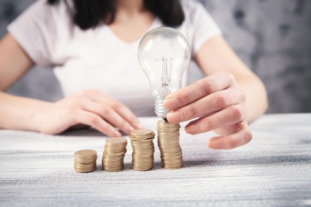 Cria novas ideias de crescimento de negócios para o sucesso