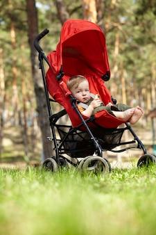 Criança no buggy