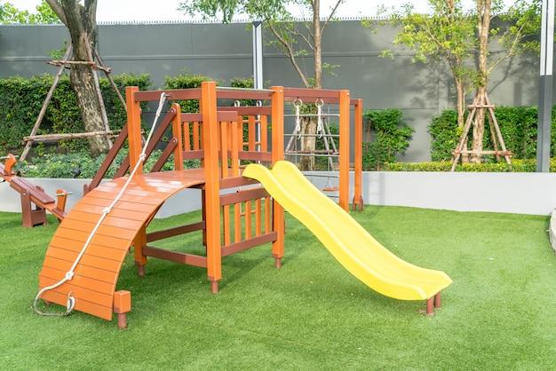 Crianças, criança, pátio recreio