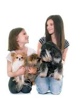 Crianças e cachorros