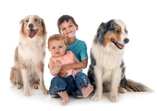 Crianças e cães
