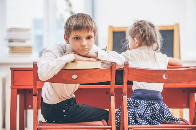 Crianças na escola