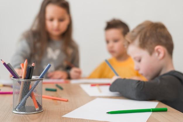 Crianças pintura