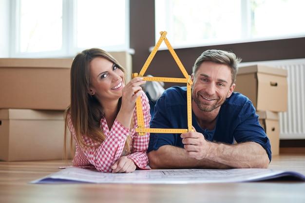Crie sua casa com a pessoa que você ama