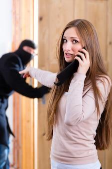 Crime contra roubo - culpado e vítima