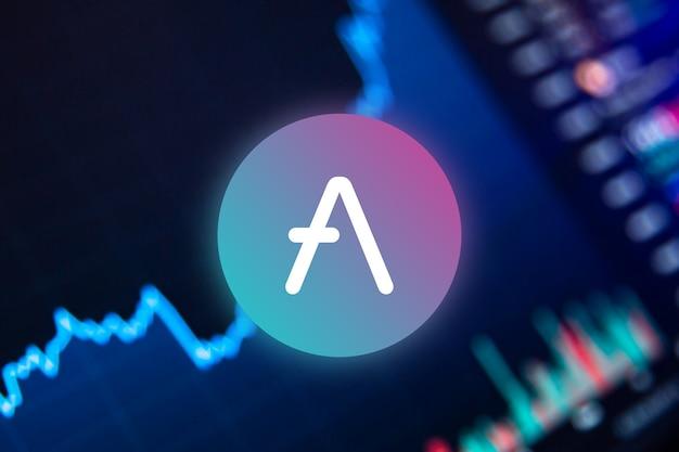 Criptomoeda aave gráfico de crescimento da moeda aave no gráfico de câmbio