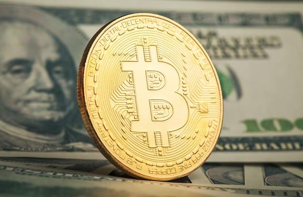 Criptomoeda de mineração de bitcoin de ouro