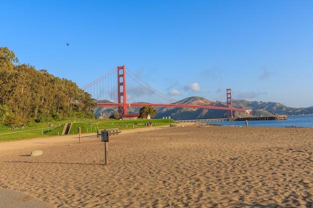 Crissy field east beach são francisco califórnia eua