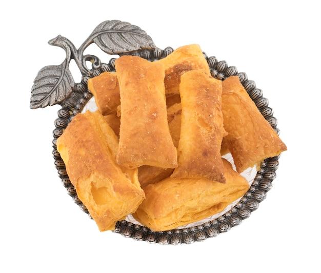 Crocante puff snack padaria comida khari