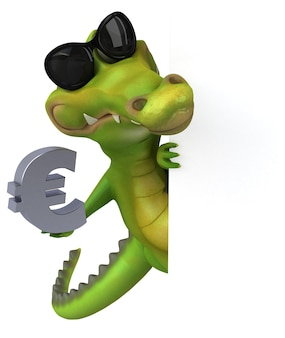 Crocodilo divertido