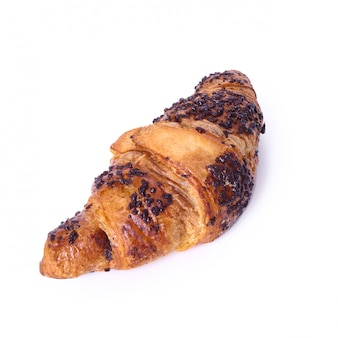 Croissant em cima da mesa