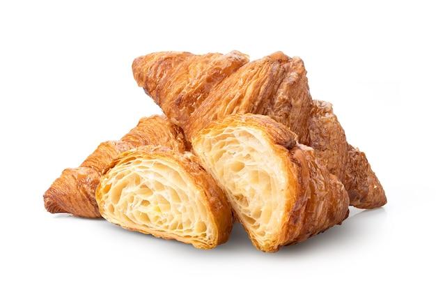 Croissant isolado em fundo branco