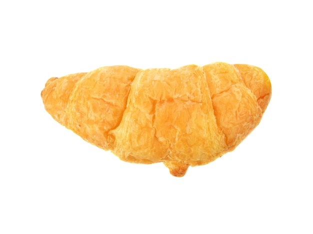 Croissant isolado no branco