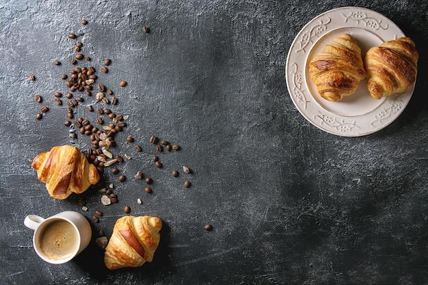 Croissants frescos