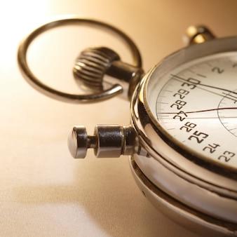 Cronômetro vintage velho