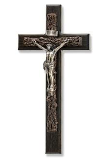 Crucifixo com figura de jesus