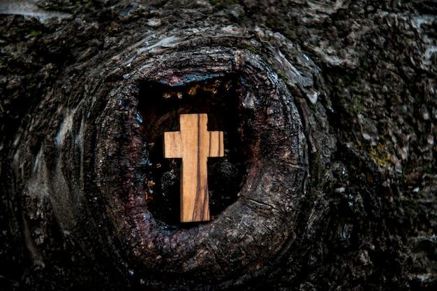 Cruz de madeira