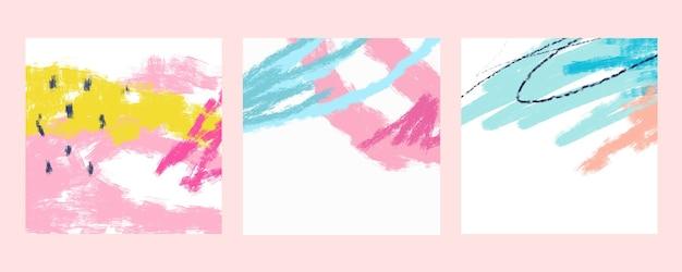 Cryons. design moderno e moderno para redes sociais. arte contemporânea. colagem criativa conceitual e colorida. copyspace para inserir seu anúncio, texto, imagem. com estilo uniforme. aguarela, linhas geométricas.