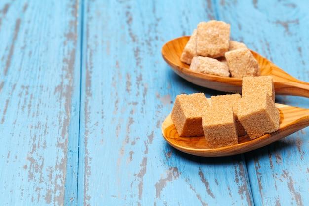 Cubos de açúcar de cana