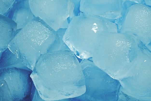 Cubos de gelo abstratos de gelo