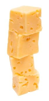 Cubos de queijo Foto Premium