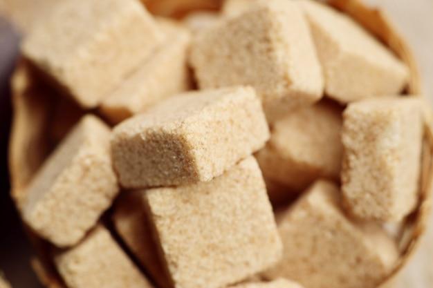 Cubos orgânicos de cana de açúcar