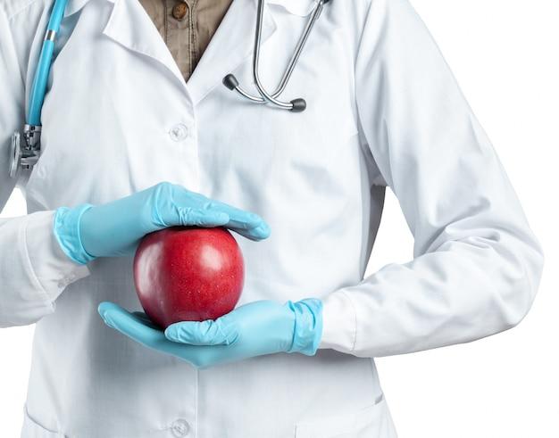 Cuidados de saúde e alimentação saudável
