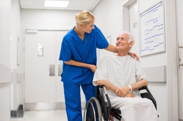 Cuidados hospitalares