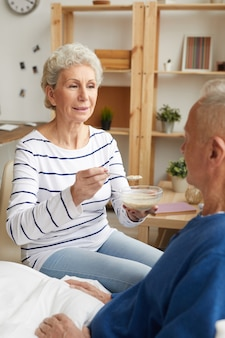 Cuidar do marido doente