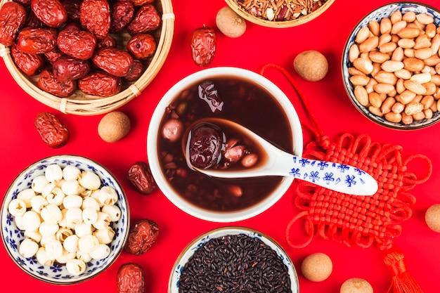 Culinária do norte chinesa, mingau de laba, mingau de oito tesouros