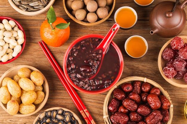 Culinária do norte da china, mingau de laba, mingau de oito tesouros